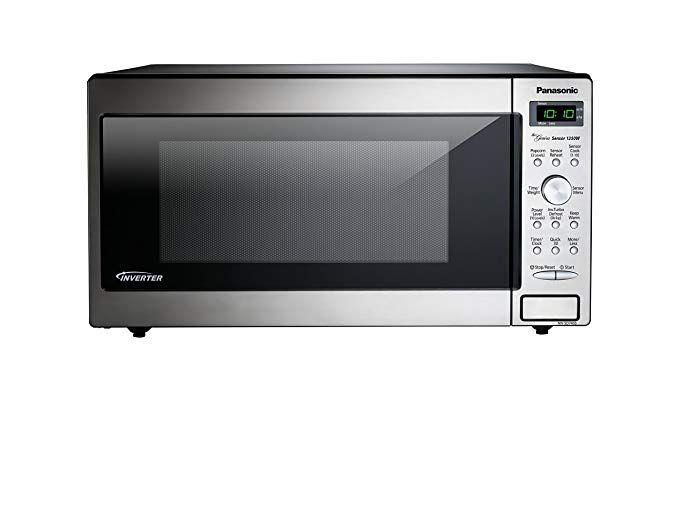 Amazon Com Panasonic Nn Sd745s Countertop Built In Microwave With