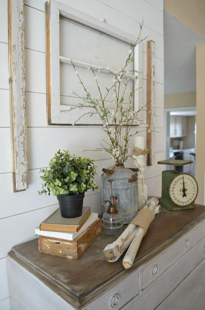 4 Ways to Decorate with Old Windows Fall Farmhouse Decor