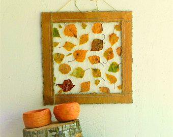 Herfstbladeren decor - herfst kunst aan de muur - herfst decoratie - vallen home decor - decor thanksgiving - val cadeau