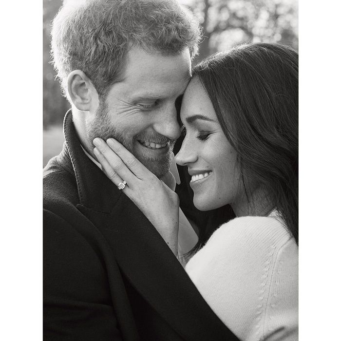 """""""A huge thank you to His Royal Highness Prince Harry and Ms Markle, for allowing me to take their official engagement portraits,"""" the photographer said in a statement. """"Not only was it an incredible honour, but also an immense privilege to be invited to share and be a witness to this young couple's love for each other. I cannot help but smile when I look at the photos that we took."""""""