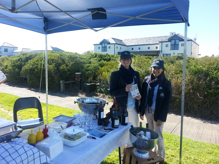 Elkanah House Golf Day...we were at hole 5..Thanks to Michaela and Jade!!