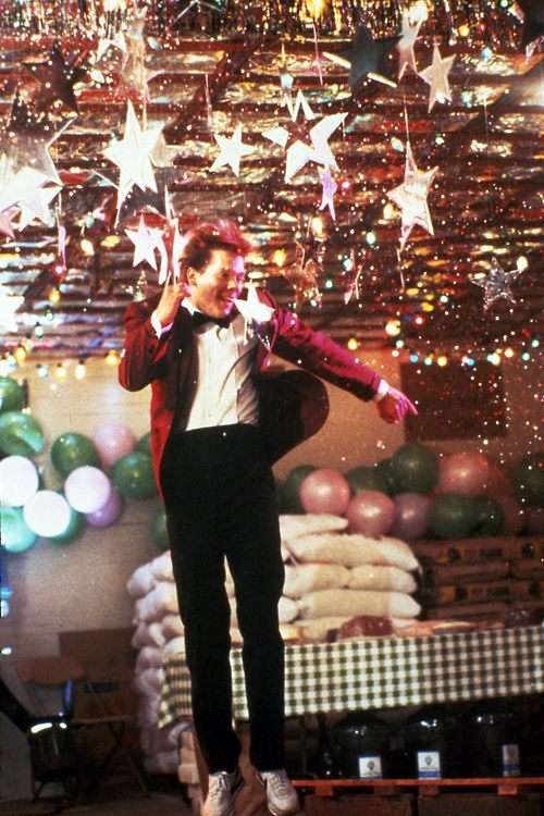 "Kevin Bacon in ""Footloose"""