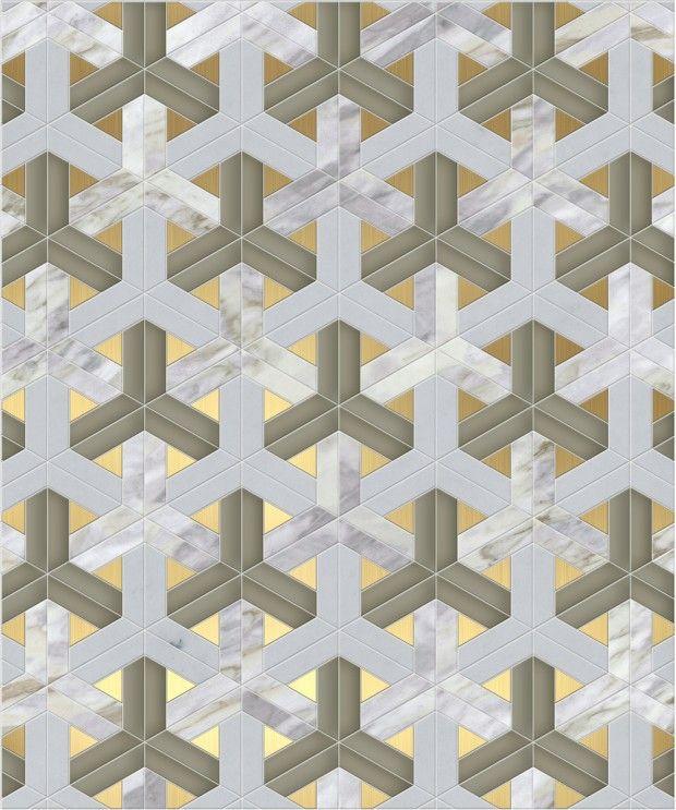 Plus de 20 patrons de mosaïques confectionnés sur-mesure, disponible en plus de 100 pierres naturelles, 16 coloris de verre Vénitien et de nombreuses incru