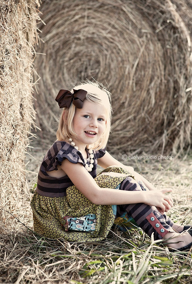 @Jenn L Hullinger, this little girl reminds me a lot of Abbey and this looks like something she'd wear.
