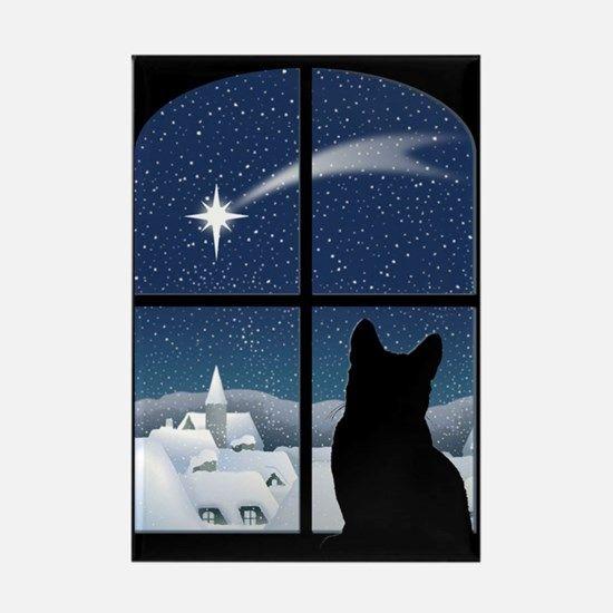 Silent Night Christmas Magnet for $7.50