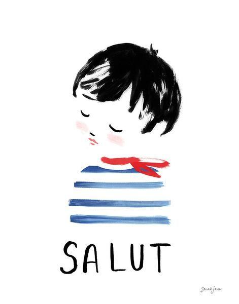 Salut by http://www.sarahjanestudios.com/