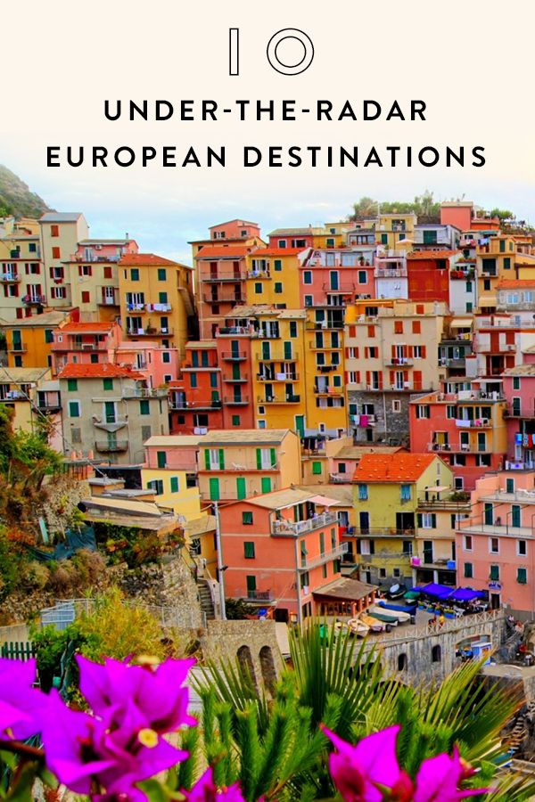 10 Insanely Gorgeous, Under-the-Radar European Destinations. Looking for sites to see in Europe? Look no further.