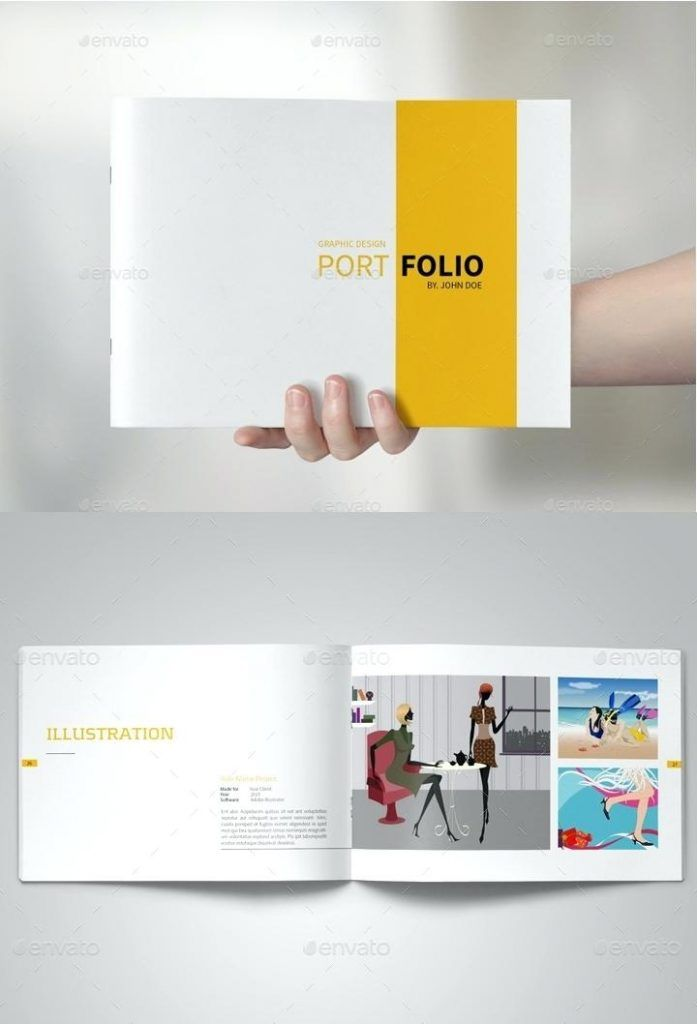 Select from our free portfolio templates the one that adds value to your creations. Graphic Designer Portfolio Template Free Download Graphic Design Print Portfolio Design Graphic Design Portfolio Layout Graphic Designer Portfolio