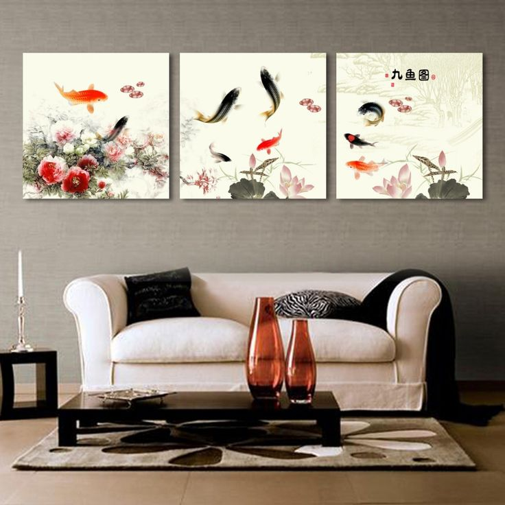 2017 Limited Time Limited 3 Pieces Canvas Wall Art Chinese Landscape  Painting Tulip Pictures Prints Hd Home Decoration Posters