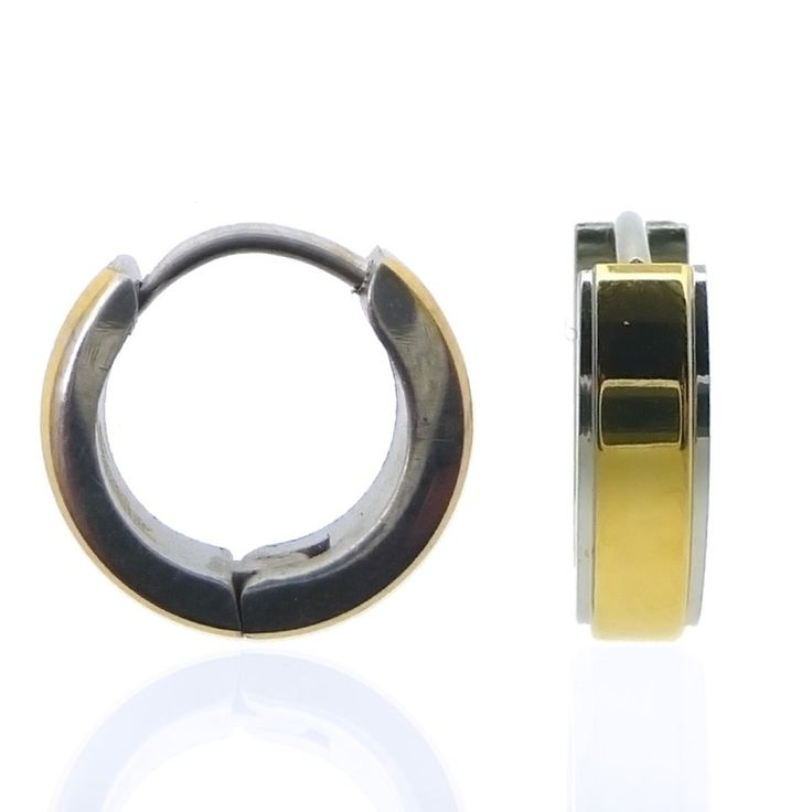 Piercing anneau oreille plaqué or