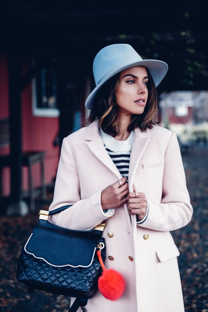 Rag & Bone blue hat