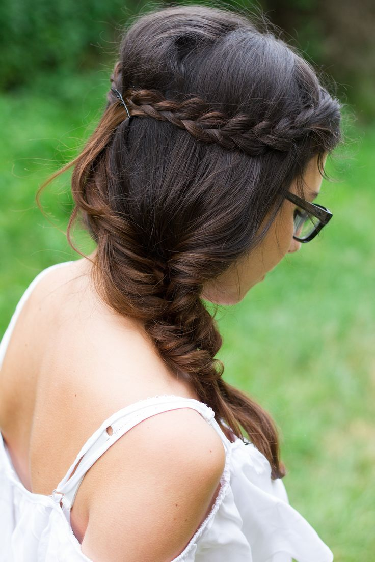 Boho Braided Hairstyle http://www.weareinlovewith.com/2014/06/studentefutter-tabouleh.html