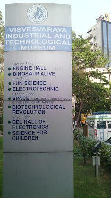 Sir. M Visvesvaraya Museum, Bangalore
