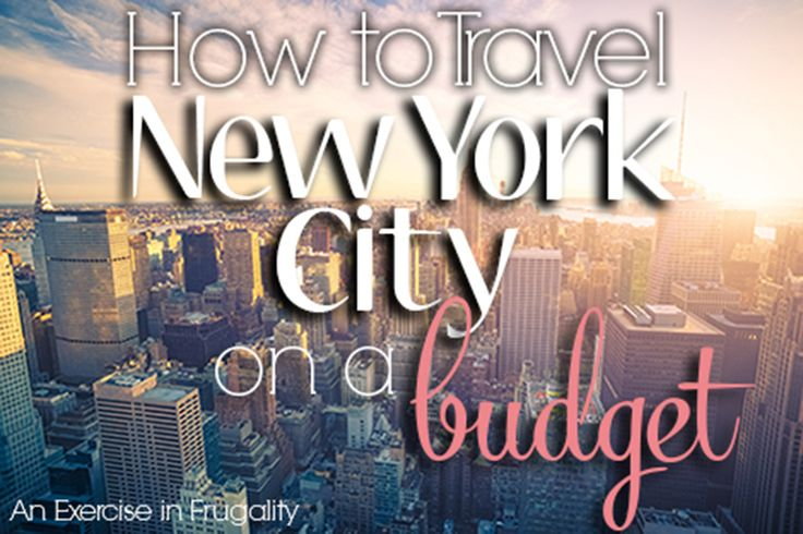 NYC might be one of the most expensive cities in the world, but it doesn't mean you can't go there on the cheap! Here's 10 tips for a budget NYC vacation.