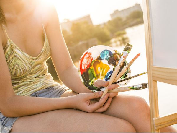 6 Art Exercises To Help Boost Self-Esteem (From A Professional Art Therapist)