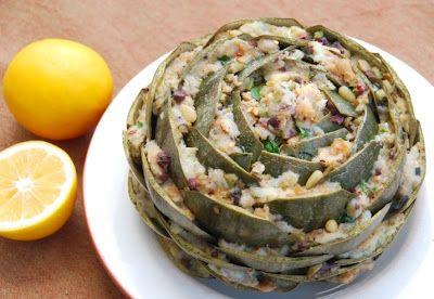 Stuffed Artichokes - from one of our favorite food bloggers!