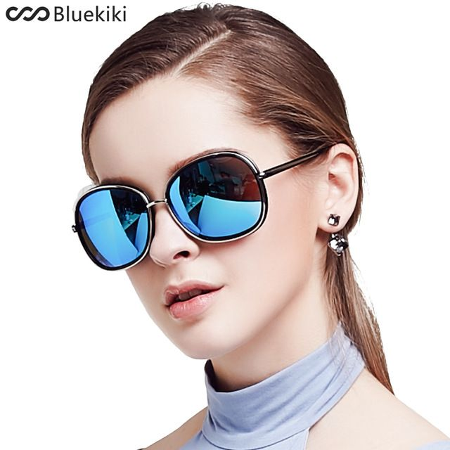Buy KIKI 2017 Women Polarized Sunglasses Round Brand Designer Sun Glasses Oval Steampunk lentes de sol mujer Driving Zonnebril Dames at tommysunglasses.com! Free shipping to 185 countries. 45 days money back guarantee.