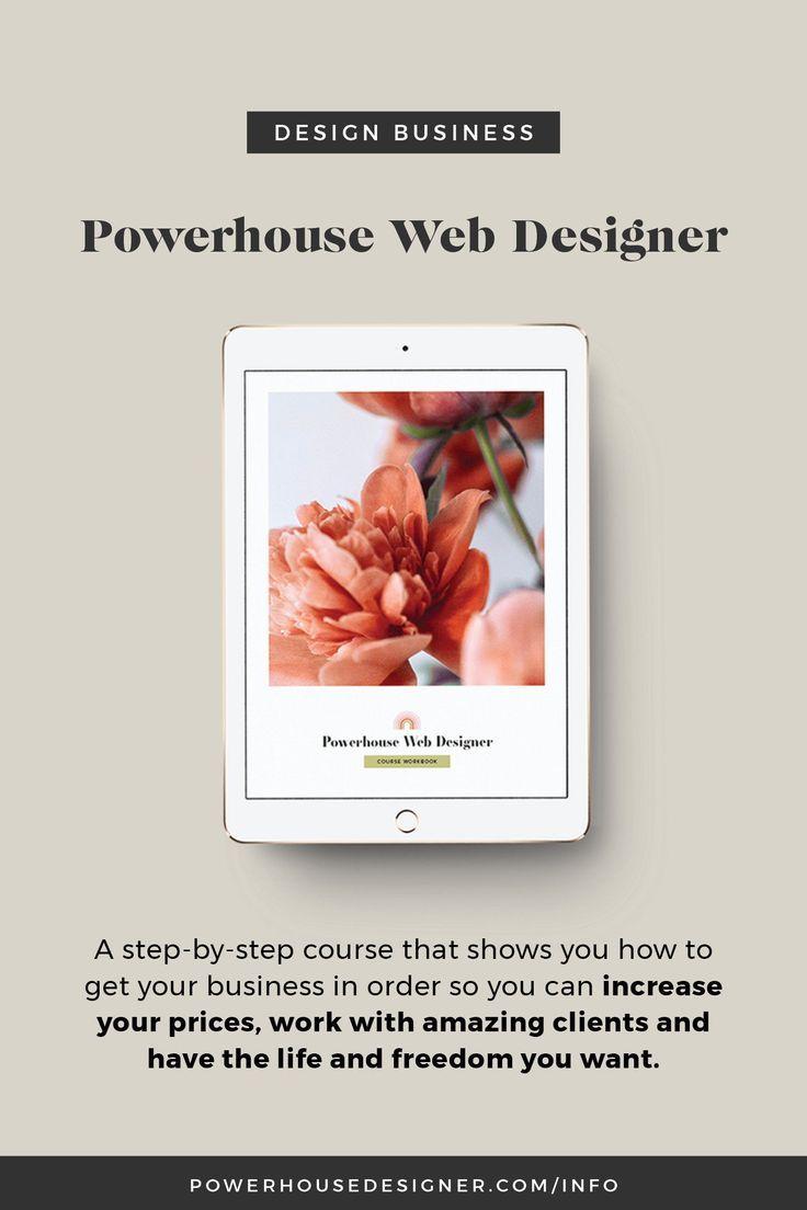 Powerhouse Web Design Course Web Designer Business Website Design Freelance Web Design Web Design Business