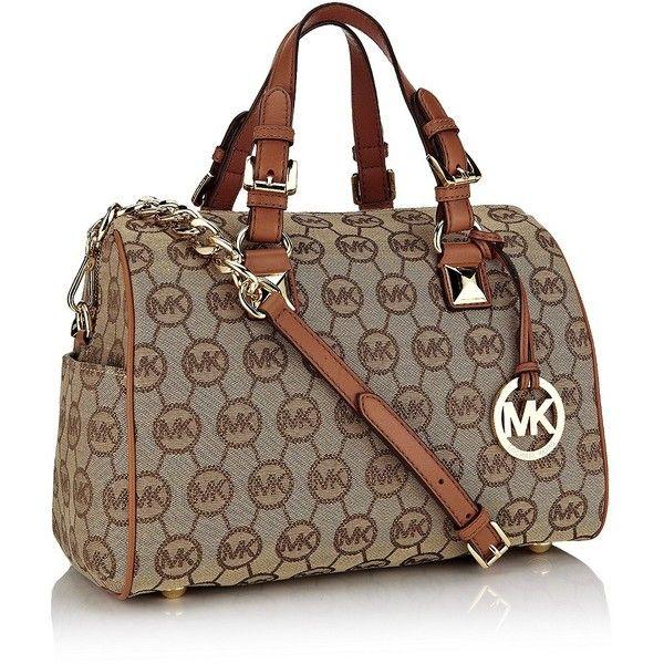 MICHAEL Michael Kors Grayson Bowler Bag ($390) ❤ liked on Polyvore,CHEAP DISCOUNT MICHAEL KORS BAGS ON SALE,cheap michael kors bags upcoming $44.99