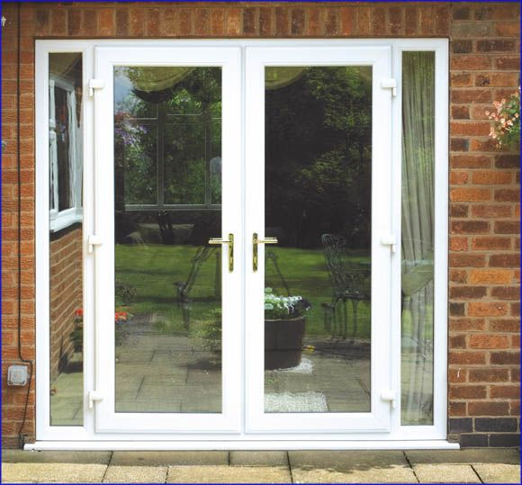 Best 25 single french door ideas on pinterest for French doors exterior upvc