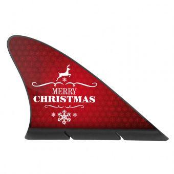 In elegantem Weihnachtsrot gehalten, gehört diese Fanflosse doch einfach auf jeden Schlitten! (auch wenn er nicht unbedingt von Santa gefahren wird...)