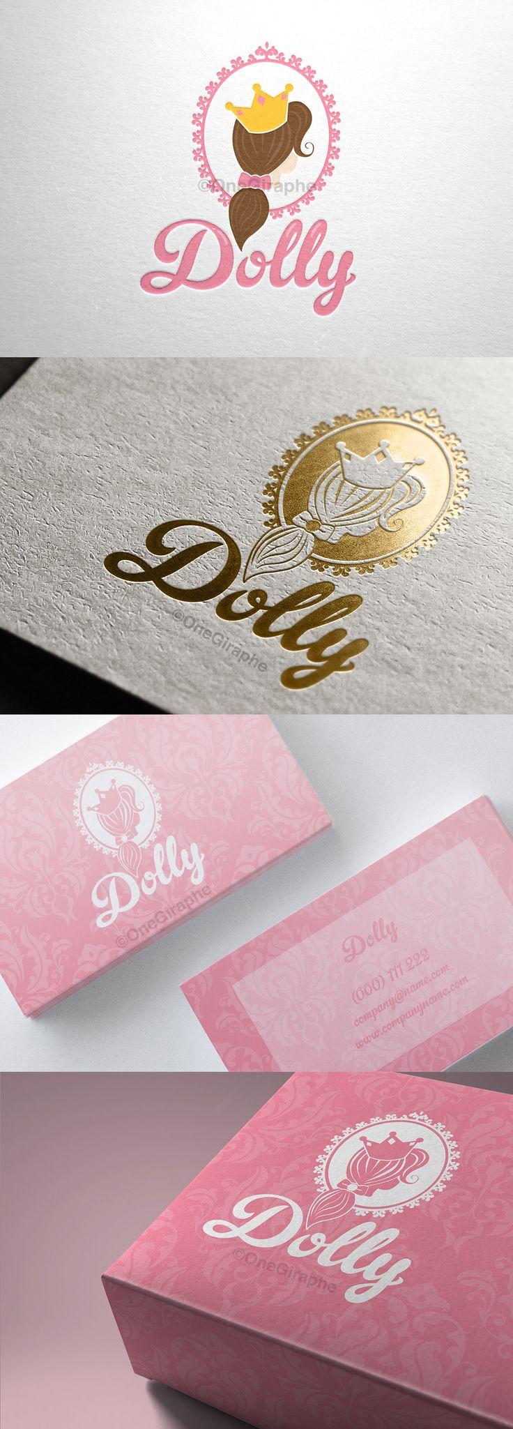 Branding for Sale! Customisable Fonts and Colors -Order at: Onegiraphe@gmail.com www.One-Giraphe.com #newborn #baby #logo #logodesign #cute #sleep #sleepy #graphic #design #designer #portfolio #behance #logopond #brandstack #store #kids #children #logodesign #design #designer #brand #brandidentity #princess #barbie #doll #gold