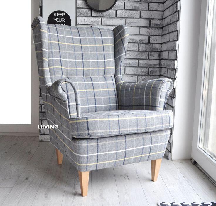 Fotel w wyjątkową kratę, wygląda rewelacyjnie w salonie,restauracji,hotelu,pubie itp.Mocna i wytrzymała tkanina tapicerska