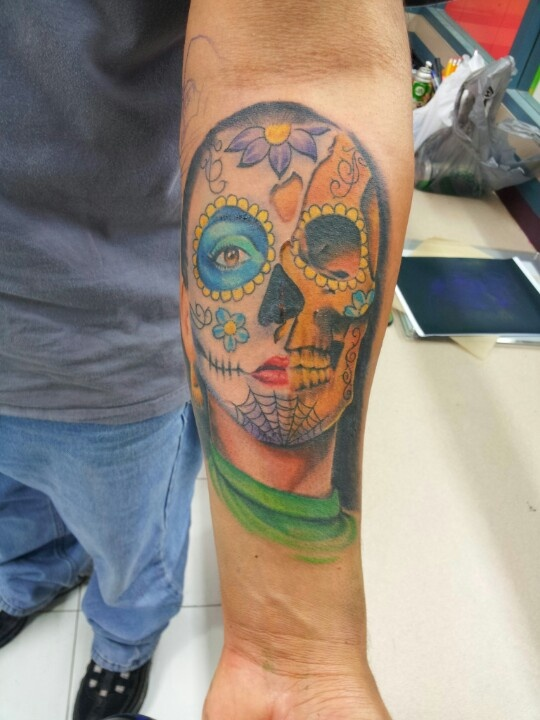 101 best images about tattoos by adrian flores at all star for Tattoos san antonio tx