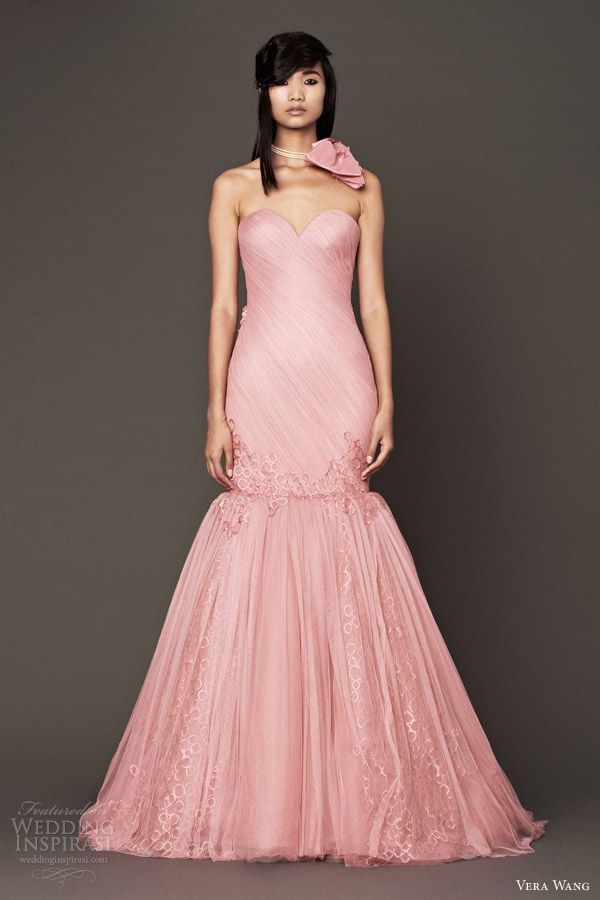 Best 25 pink wedding dresses ideas on pinterest for Custom wedding dress near me