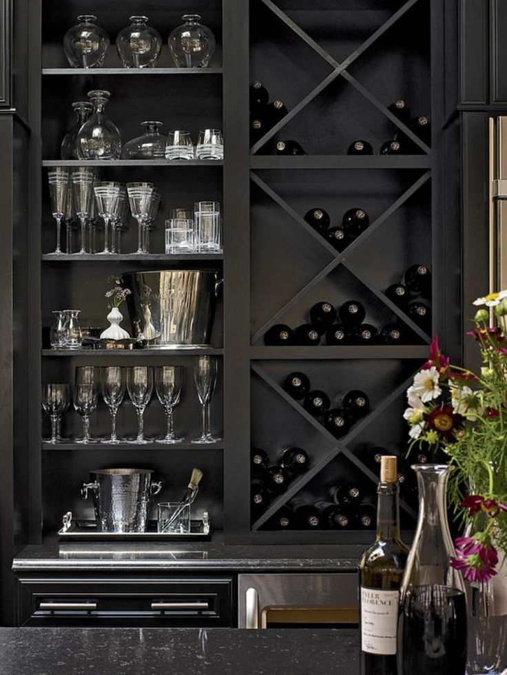 Our subsequent built-in DIY wine storage idea, by Pursuit of Healthfulness, uses a bit of lumber and trim to produce an great constructed-in wine rack in the narrow space on the side of a cabinet. Description from decorationtrend.com. I searched for this on bing.com/images