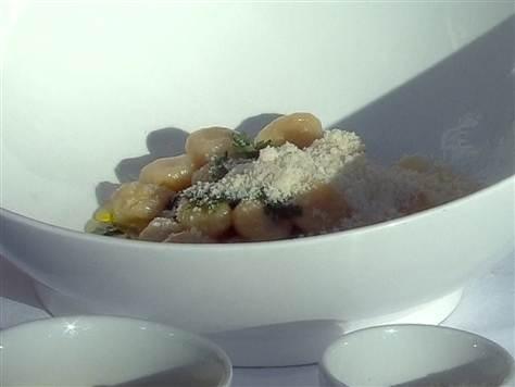 Giada's mascarpone and lemon (no potato) gnocchi