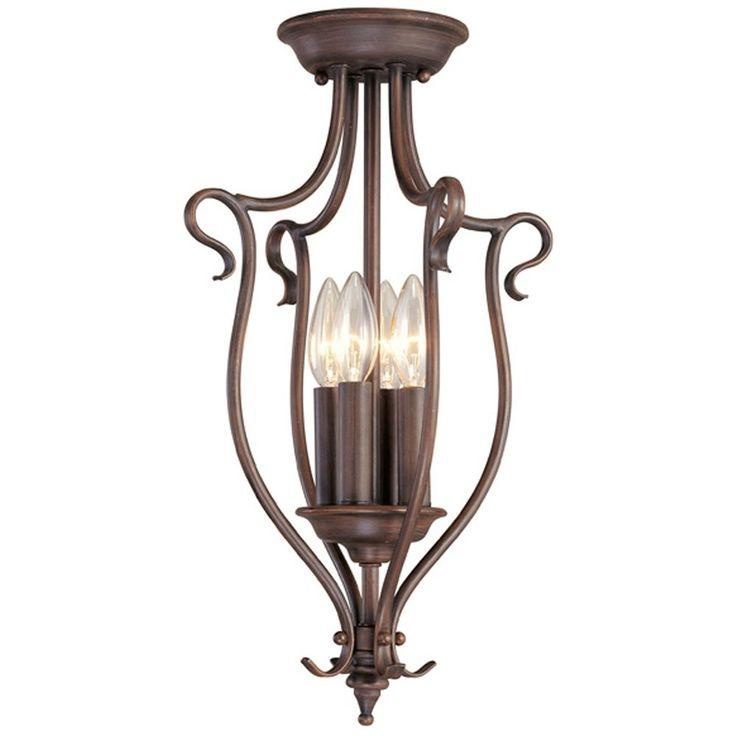 Livex Lighting Coronado Imperial Bronze Pendant Light at Destination Lighting