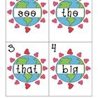 Hang Earth Day word cards around the room.  Students hunt for the words and write them down on recording sheet.  Great for center activity.    ...