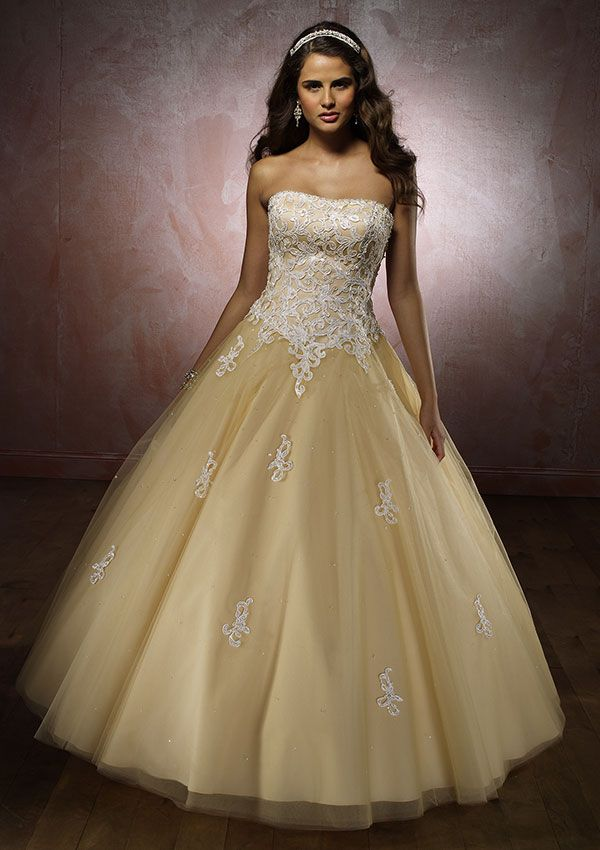 107 best images about Yellow ballgowns on Pinterest | Prom dresses ...