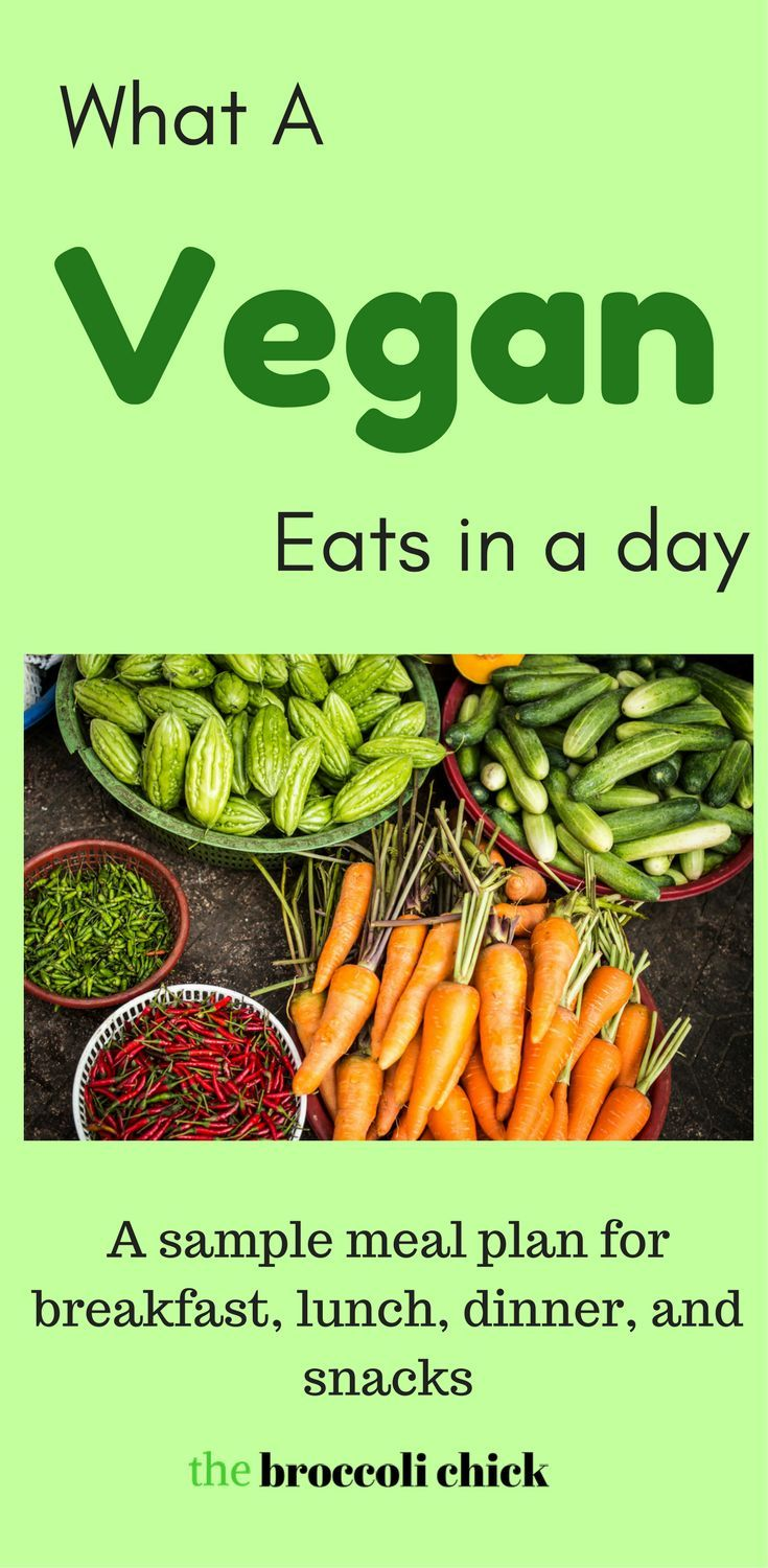 What a vegan eats in a day. A sample meal plan of what I typically eat in my vegan diet.