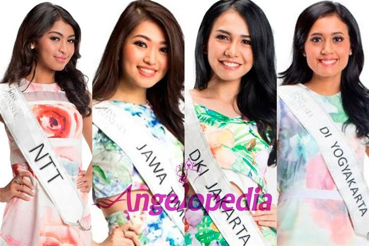 Miss Indonesia 2015 Top 7