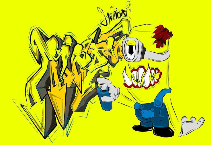 Minion evil doodles