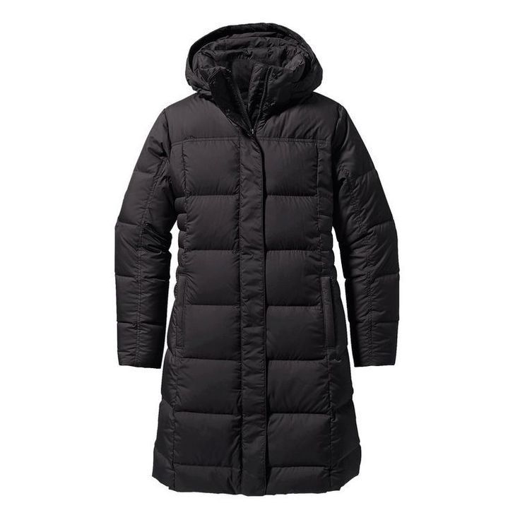 patagonia | w's down with it parka | black