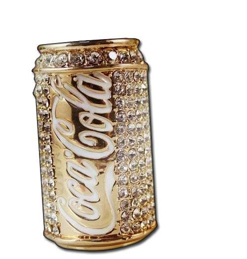 Random Acts of Bling - a Blinged out Coca Cola Can