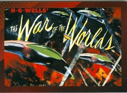 War of the Worlds trading post card Movie Poster Collection 2007 Breygent #12 3x5 1953 HG Wells Gene Barry