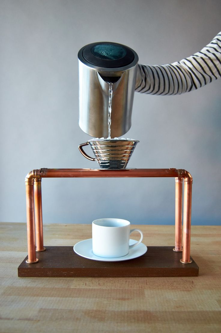 Big surprise: We love coffee. Crazy, right? But, like every other enlightened individual, we do. So, we decided to step up our game with this crazy simple #DIY pour over stand for two. Best part? We got to use a blowtorch from our friends at Bernzomatic to put the whole thing together. You should make one this weekend! #sp #BernzomaticTorchBearer