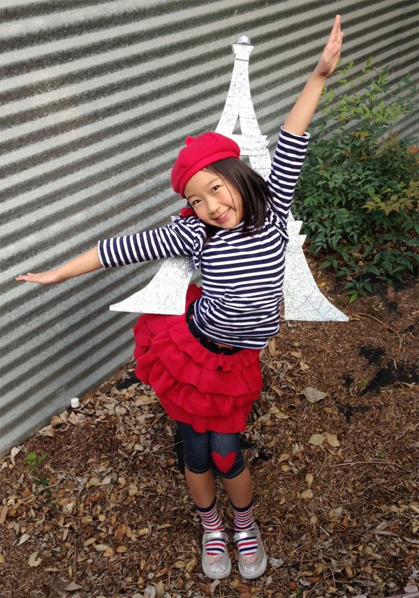 french girl costume diy - Kids Halloween Costumes Pinterest