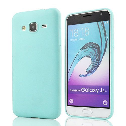For Samsung J3 Solid Candy Rubber TPU cover case For Samsung galaxy J3 J300 J300F back cover case for Galaxy J3 2016 covers case