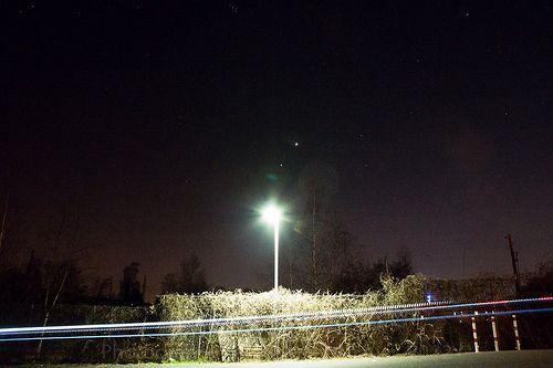 Conjunction of Venus and Jupiter @ Aachen Bergische Gasse