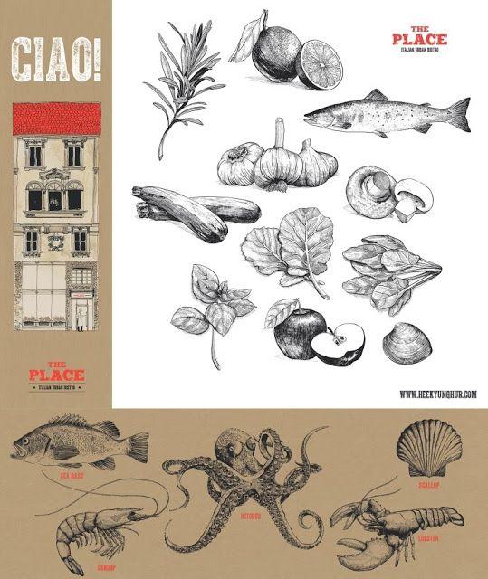 illustratorHH: CJ Foodville The Place | 더플레이스