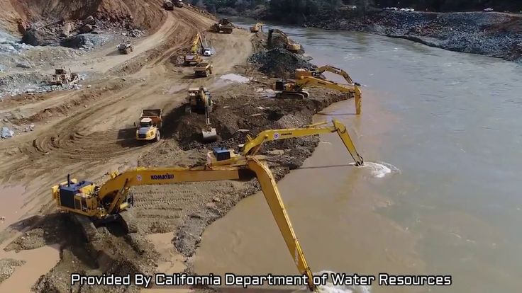 New Drone Video   Lake Level Hits 860   Lake Oroville Dam Updates 3 10 2017