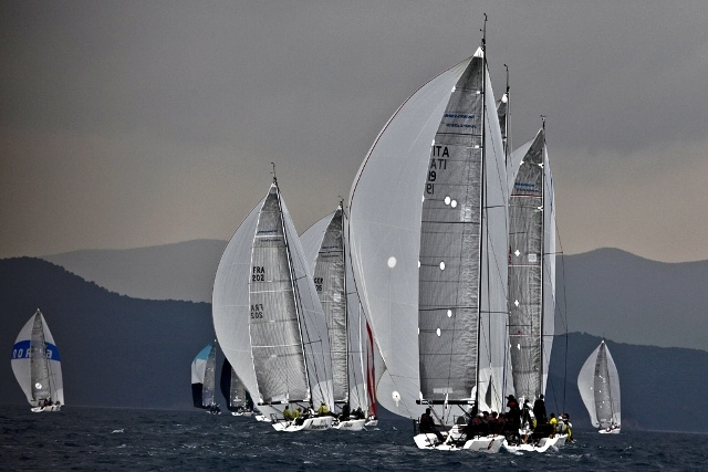 Regattas season at Marina di Scarlino, #maremma, #tuscany, #italy