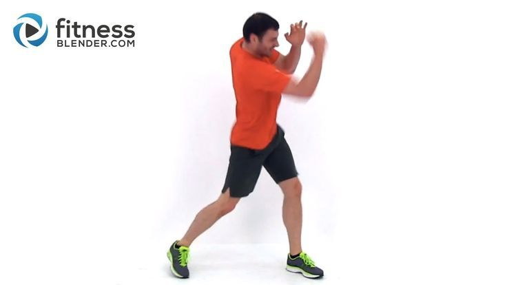 Cardio Kickboxing plus Abs and Obliques Workout – At Home Bodyweight Wor… –   …