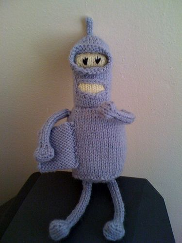 90 best knitted amigurumi patterns images on pinterest knitting free knitting pattern amigurumi bender amigurumi dt1010fo