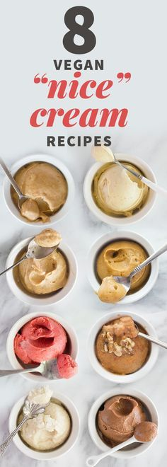 8 Vegan Nice Cream Recipes Eat Well #MikeBolger #ColdwellBanker #KitchenerRealEstate http://www.mikebolger.ca/
